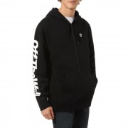 Vans Distorted Oversized Half Zip VA457CBLK