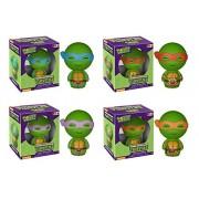 Funko Pop! Dorbz: Teenage Mutant Ninja Turtles Leonardo, Raphael, Donatello and Michelangelo Vinyl Figures Set of 4!