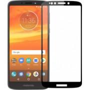 Folie sticla securizata Motorola Moto E5 Plus 3D Negru FULL SCREEN Tempered Glass Antisoc Viceversa