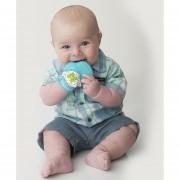 Munch Mitt - Mordedera Para Bebés, Guante De Dentición Azul