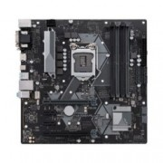 Дънна платка ASUS PRIME H370M-PLUS, LGA 1151, B360, DDR4, PCI-E(HDMI, DVI, D-SUB), 6 x SATA 6Gb/s, 7 x USB 3.1/6 x USB 2.0, Realtek ALC887 8-Channel High Definition Audio CODEC, Micro ATX
