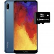 Celular Huawei Y6 2019 32GB+2GB Dual Sim + Micro SD 32GB Azul Safiro
