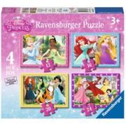 Puzzle Printesele Disney 12/16/20/24P Ravensburger
