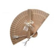 Sandalwood Fan (with optional bow)