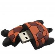 Unidad flash USB tortuga negra de gran capacidad de dispositivos de almacenamiento de la unidad impermeable