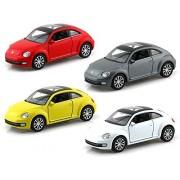 Set of 4 - Volkswagen New Beetle 1/32