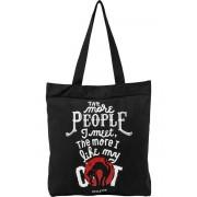 Poșetă (geantă de mână) KILLSTAR - People Suck - BLACK - KSRA000323