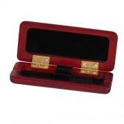 ELECTROPRIME® Wood Oboe Reed Storage Case Holder for 2pcs Reeds Woodwind Instrument Parts