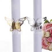 Karton Papier Bruiloft Servetten-Stuk/Set Servet Ringen