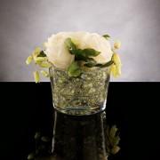 Aranjament floral ETERNITY GREEN PEARL ROSE