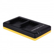Patona Incarcator Rapid Dual USB pentru Canon NB-6L cu Cablu Micro USB