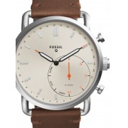 Ceas barbatesc Fossil Q FTW1150 Commuter Hybrid Smartwatch 42mm 5ATM