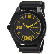 Fastrack Analog Black Round Watch -9462AP04