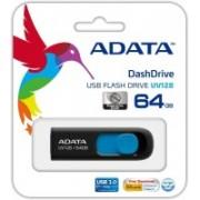 Adata AUV128-64G-RBE 64 GB Pen Drive(Blue)