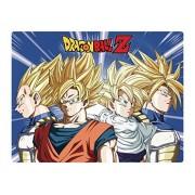 GE Animation 57785 Dragon Ball Z Super Saiyan Warriors Throw Blanket
