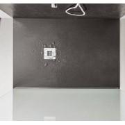 AGHA Effet Pierre à effet de douche 150X70 en 8 couleurs - Couleur: blanc