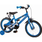 Bicicleta Copii Volare Super 16 inch cu Roti Ajutatoare Blue
