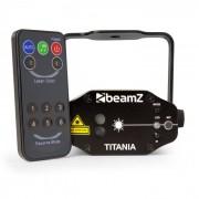 Titania Laser a Doppio Raggio 200mW RG Gobo Classe del Laser 3B Telecomando IR