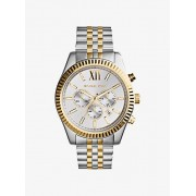 MK Oversized Lexington Two-Tone Watch - Two Tone - Michael Kors