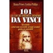 101 lucruri inedite despre Da Vinci .