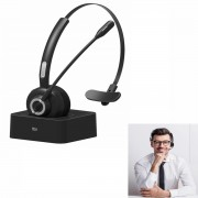 LANGSDOM M97 Bluetooth Headset with Microphone Noise Cancelling Mic Bluetooth Headphones