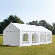 taltpartner.se Partytält 4x8m PVC 500 g/m² vit vattentät