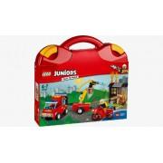 Lego Klocki konstrukcyjne Juniors Patrol Strażacki 10740