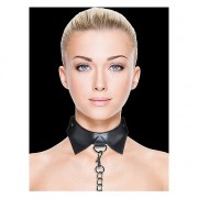OUCH COLLAR Y CORREA EXCLUSIVE NEGRO