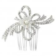 Agrafa Borealy Pearl Flower Mireasa