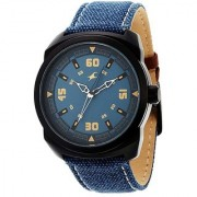 Fastrack Quartz Blue Round Men Watch 9463AL07