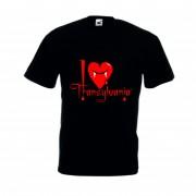 Tricou imprimat I love Transylvania