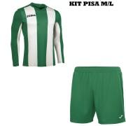 Joma- Completo Calcio - Kit Pisa M/L