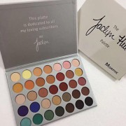 Morphe X Jaclyn Hill Eyeshadow Palette Matte Shimmer 35 Colors Professional Eye Shadow Makeup kit!!