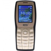 MTR MT 1101 DUAL SIM MOBILE PHONE IN GOLD AND BLACK COLOR