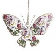 Fluture metalic decorativ