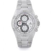 Titan Quartz White Round Men Watch 9308SM01