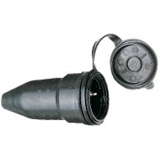 Gummikupplung Schutzkontakt 230V