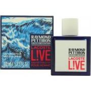 Lacoste Live Eau de Toilette 100ml Sprej - Raymond Pettibon Collectors Edition