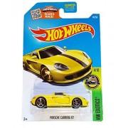 Hot Wheels, 2016 HW Exotics, Porsche Carrera GT [Yellow] #74/250