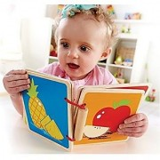 Hape Happy Baby Baby Book Fruit