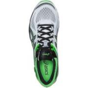 Asics Gt-1000 4 Men Running Shoes For Men(White, Black, Green)