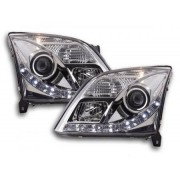FK-Automotive Phares Daylight pour Opel Vectra (type C) Année: 02-05 chrome