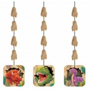 Geen Dinosaurus hangdecoraties 3 stuks