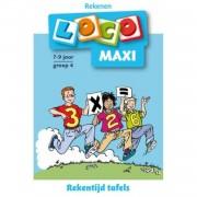 Maxi Loco / Rekentijd, Tafels groep 4