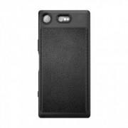Carcasa TECH-PROTECT TPULEATHER Sony Xperia XZ1 Black