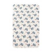 Paturica dubla de vara Junior DeLuxe 100x135 cm Ursi cu inimioare albastre