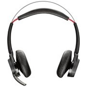 Plantronics Voyager Focus UC B825-M Wireless Bluetooth Stereo Headset - Over-the-head - Circumaural