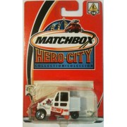 STREET SWEEPER Matchbox 2002 Hero City Series Street Sweeper Cleaner 1:64 Scale Collectible Die Cast Metal Toy...