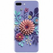 Husa silicon pentru Apple Iphone 8 Plus Flower Artwork