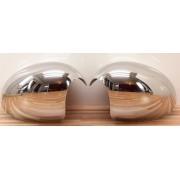 CALOTTE COPRI SPECCHI CROMATE MINI ONE R55 R56 R57 dal 2007>